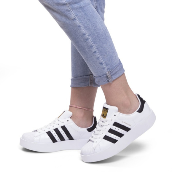 f7512077f57b ADIDAS Originals Superstar Platform Sneakers